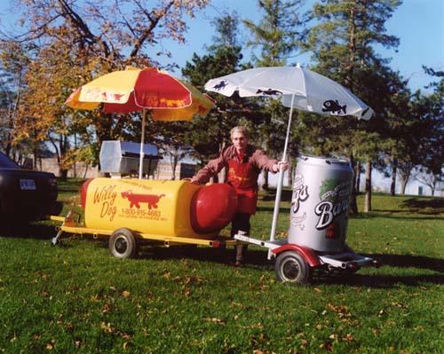 Willy Dog Hot Dog Cart
